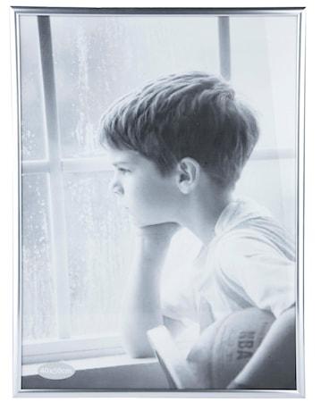Bild av KJ Collection Tavelram Glas/Silver 50x40 cm