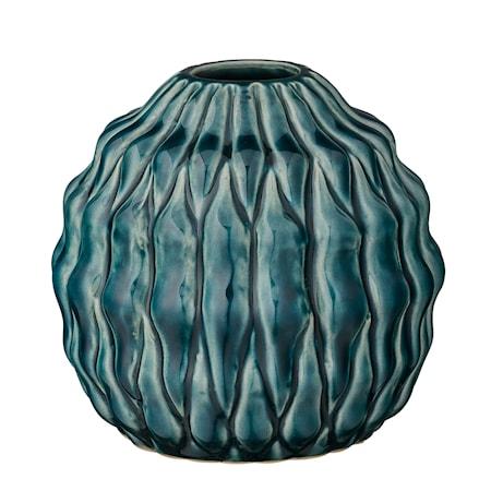 Bild av Bloomingville Vas Grön Stengods 12x11cm