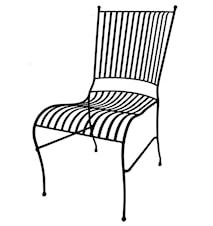 Smide stol