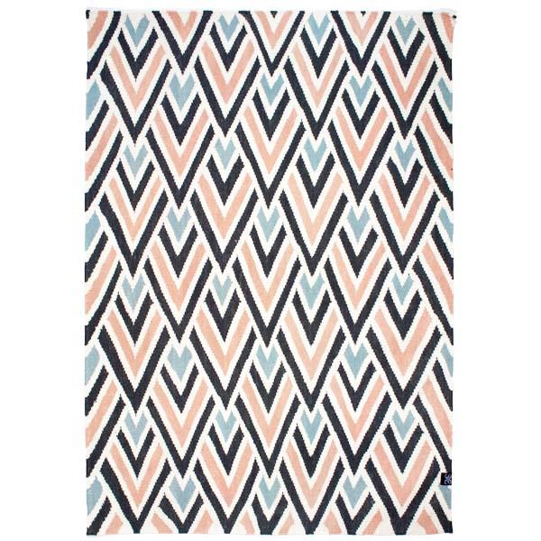 Tipi matta - Multi Pink