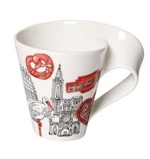 Cities of the World Mug Mugg 0,35l-Strassbourg