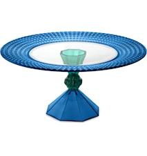 Dulcis Tårtfat 28 cm BLUE