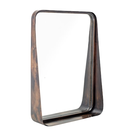 Abby Spegel Metall Svart