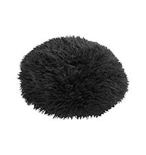 Sheila Round Kudde Ø40 cm - Black/Black