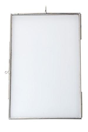 Madam Stoltz Valokuvakehys 10×15 cm – hopea