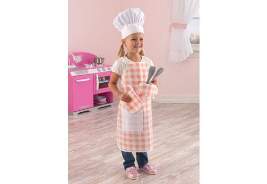 Tasty treats chef accessory set-Pink