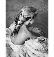 Her fotoprint - 100x70