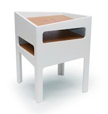 Trick bord – Vit/Ek