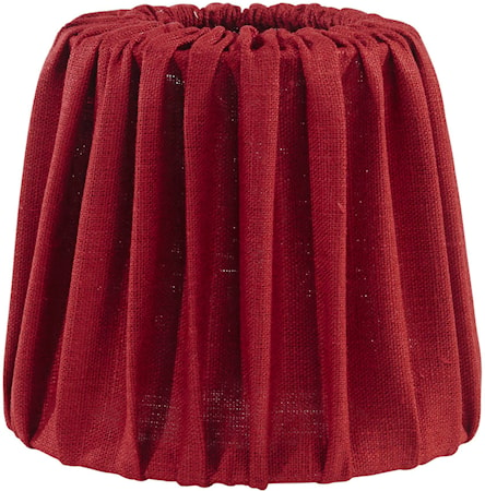 PR Home Mia Lampskärm Lin Röd 20 cm