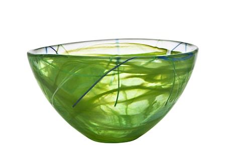 Contrast Lime Skål Ø 23 cm
