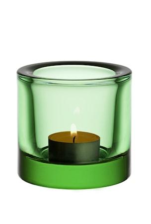 Kivi ljuslykta 60mm äppelgrön /presentfrp