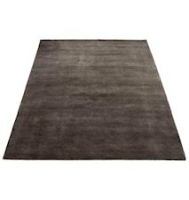 Earth Handvävd matta - mörkgrå/chacoral