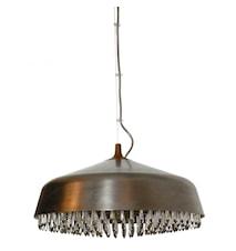 October steel 45cm design Johan Carpner stål pigg