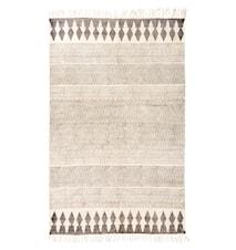 Hand woven printed matta