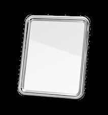 Tableau Spegel M Aluminium