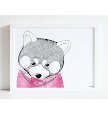 Kattbjörn poster - 30x40