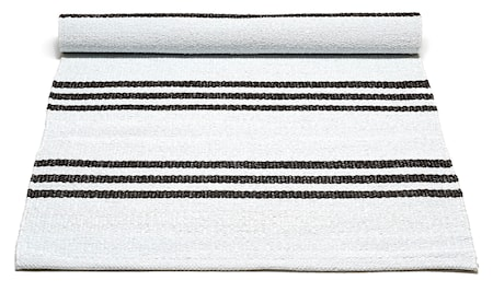 Bild av Rug Solid Plastic matta -White/Chocostriped