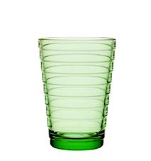 Aino Aalto glass 33 cl eplegrønn 2-pakk