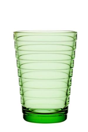 Aino Aalto glas 33 cl äppelgrön 2-pack