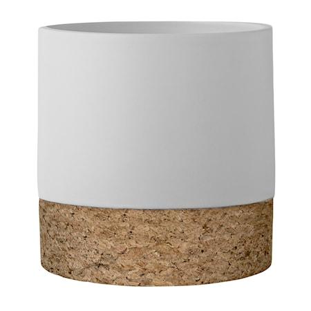 Bloomingville Ruukku Valkoinen Kivitavaraa 14 cm