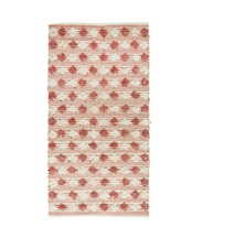 Matta 170x90 cm - Dusty rose/offwhite