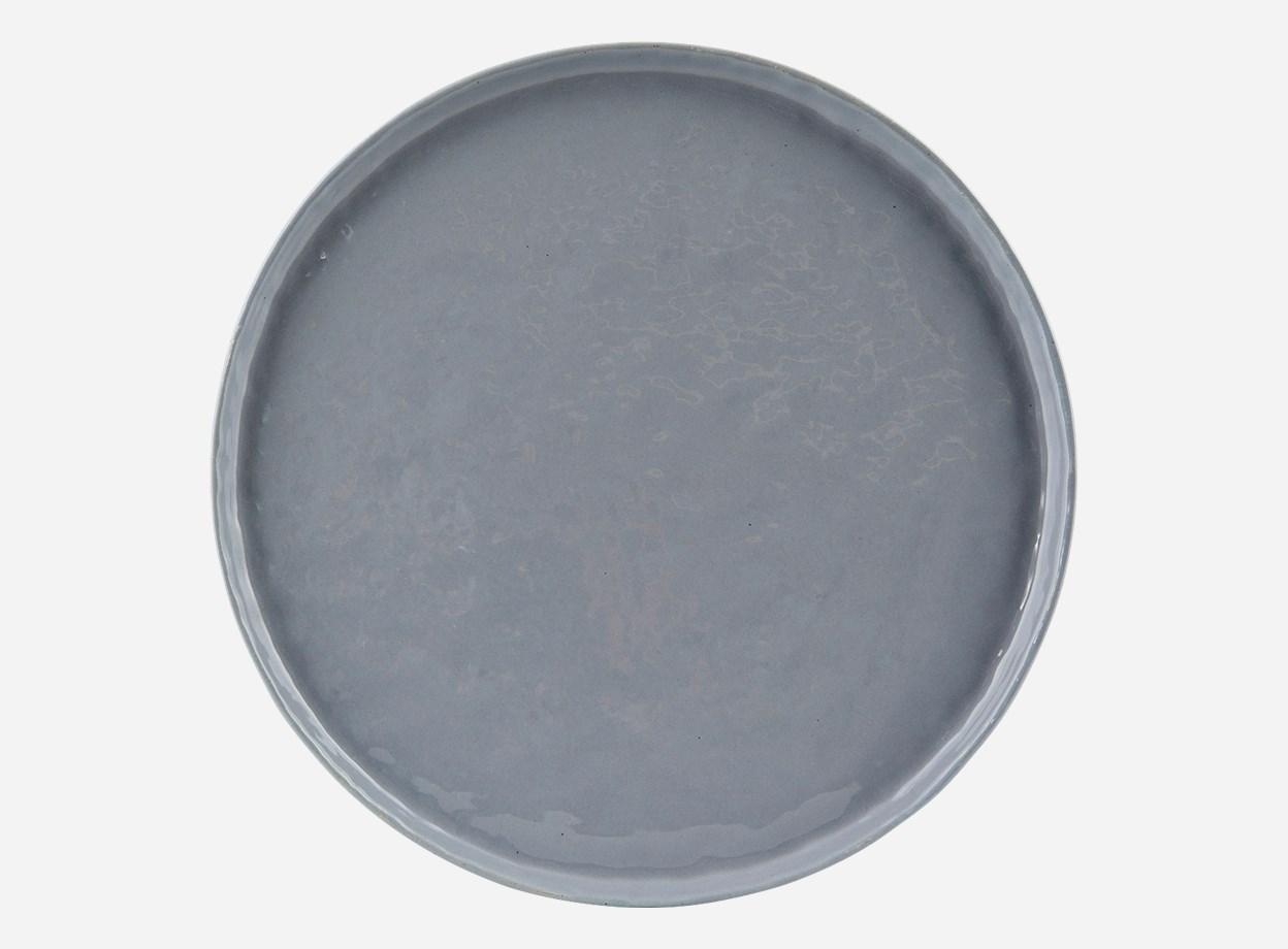 Tallrik Solid Blå Ø 27,5 cm