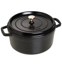 Pyöreä Pata 26 cm Musta 5,2 L