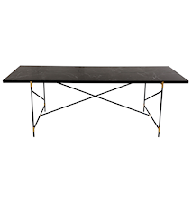 Dining table 230 cm mässing