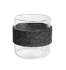 Kaffeglas ERNST m omslag 2-p