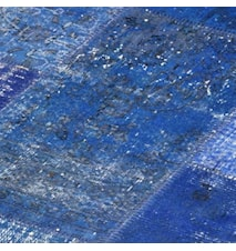 Patchwork Rug Blue