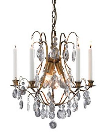 Bild av Markslöjd Trolleholm Lampa 3 Ljus Antik