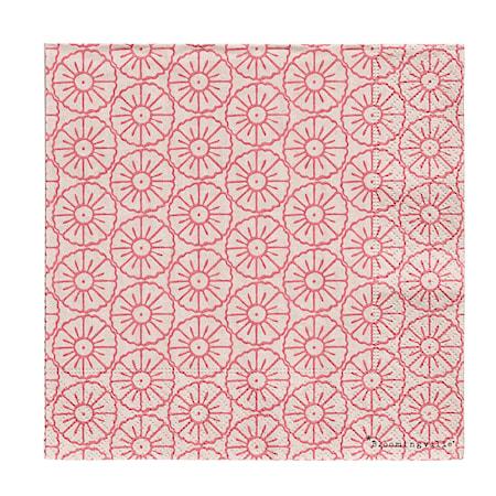 b7ea8ac0e Serviett Rosa mønster 20 st, 33x33 cm