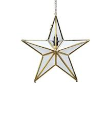 Glasstjärna Ansgar 50 cm - Guld