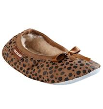 Varberg tofflor - Barn, leopard