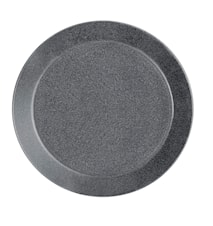 Teema tallerken 21 cm meleret grå