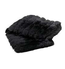 Foxy Bedend Double Pläd 60x210 - Black