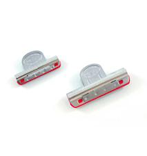 Slipfixturer clips med plastinlägg 2storl.