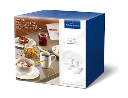 Villeroy & Boch For Me Breakfast-Setti 2 pers.