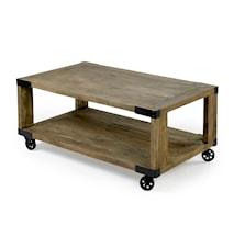 Coffe table soffbord på hjul