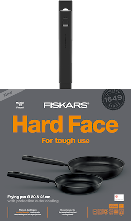 Hard Face Stekpanneset 28+20 cm