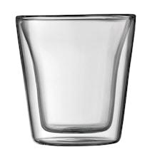 Dubbelväggade Glas 2 st 10 cl