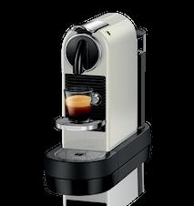 Citiz 2 Vit Kaffemaskin