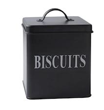Förvaringsburk Biscuits Metall 16,5x14 cm