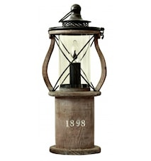 1898 Table Lamp Wood