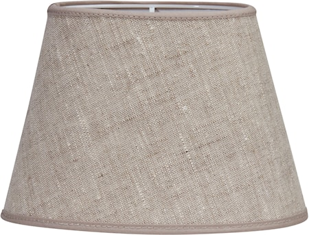 Bild av PR Home Oval Lampskärm Lin Ljusbeige 15 cm