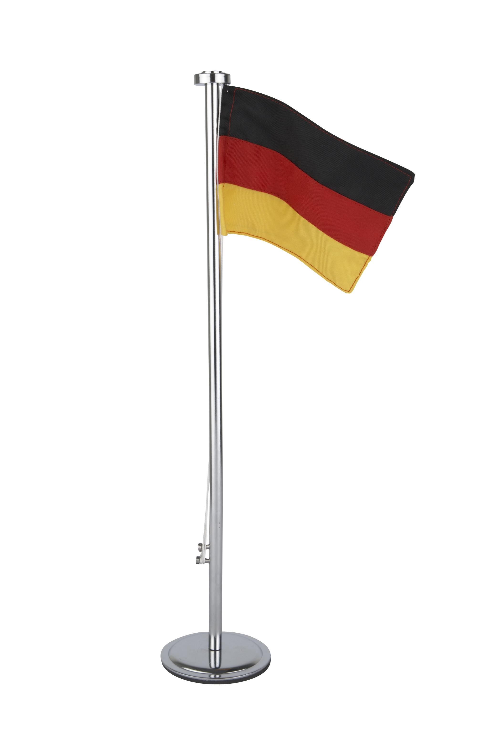 Flagga Metall Tyskland 40 cm