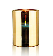 Hurricane lamp - Gold