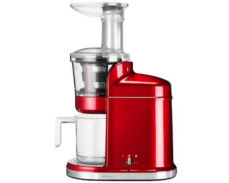 Artisan slow juicer röd metall