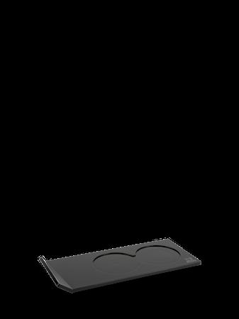 Alpha stativ akryl svart