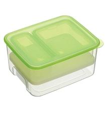 Lunchbox med två fack och kyldel